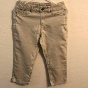 D.jeans size 6 Capri